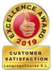 Award winning certificate for customer satisafaction