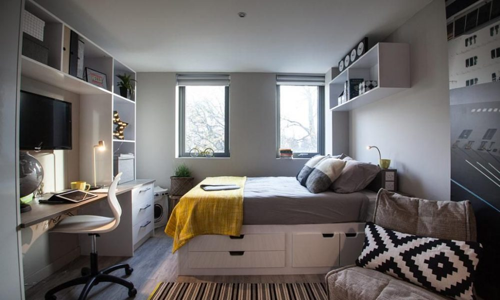 Brunswick Apartments | Student accommodation, Flat interior design ...