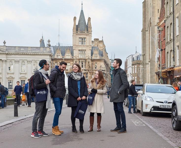 St Giles Cambridge | İngiltere'de İngilizce Dil Eğitimi