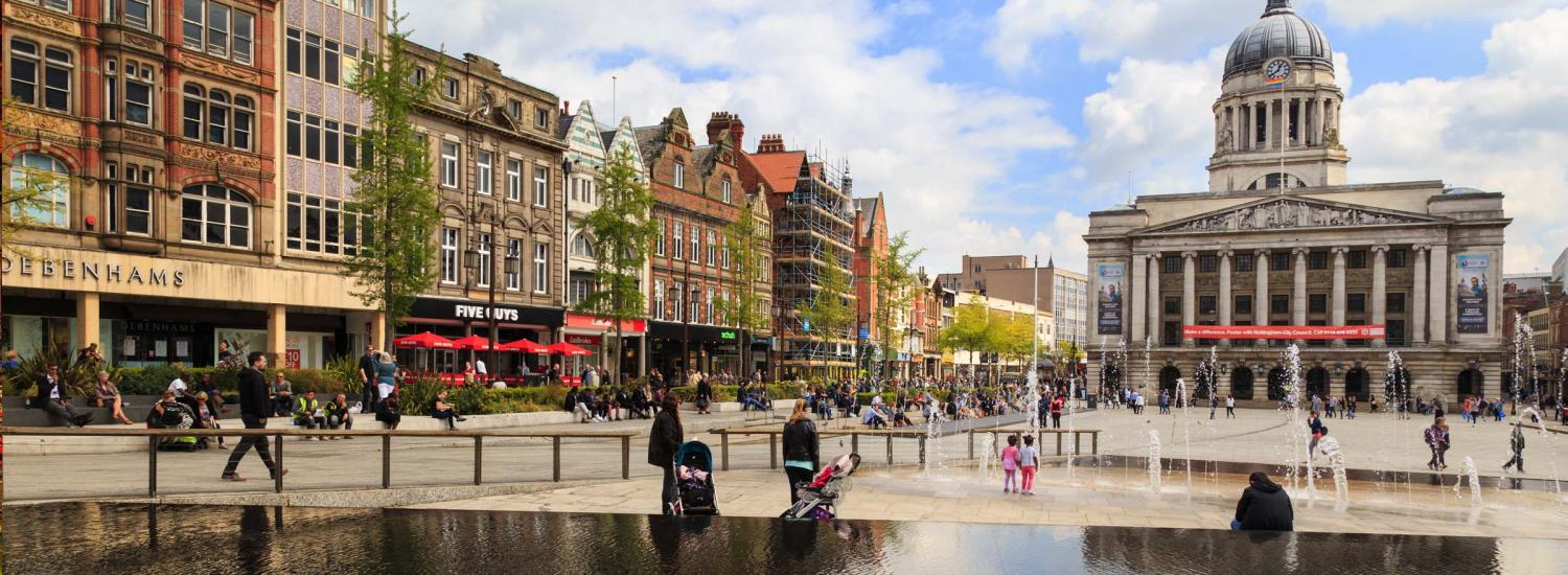 Student cities: studying in Nottingham | TARGETcareers
