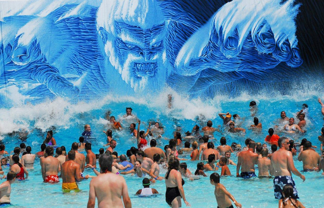 The gods must be smiling on Dells' Mt. Olympus