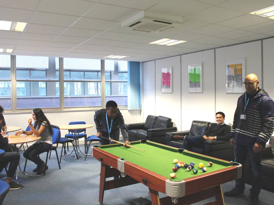 TLG MANCHESTER STUDENT LOUNGE