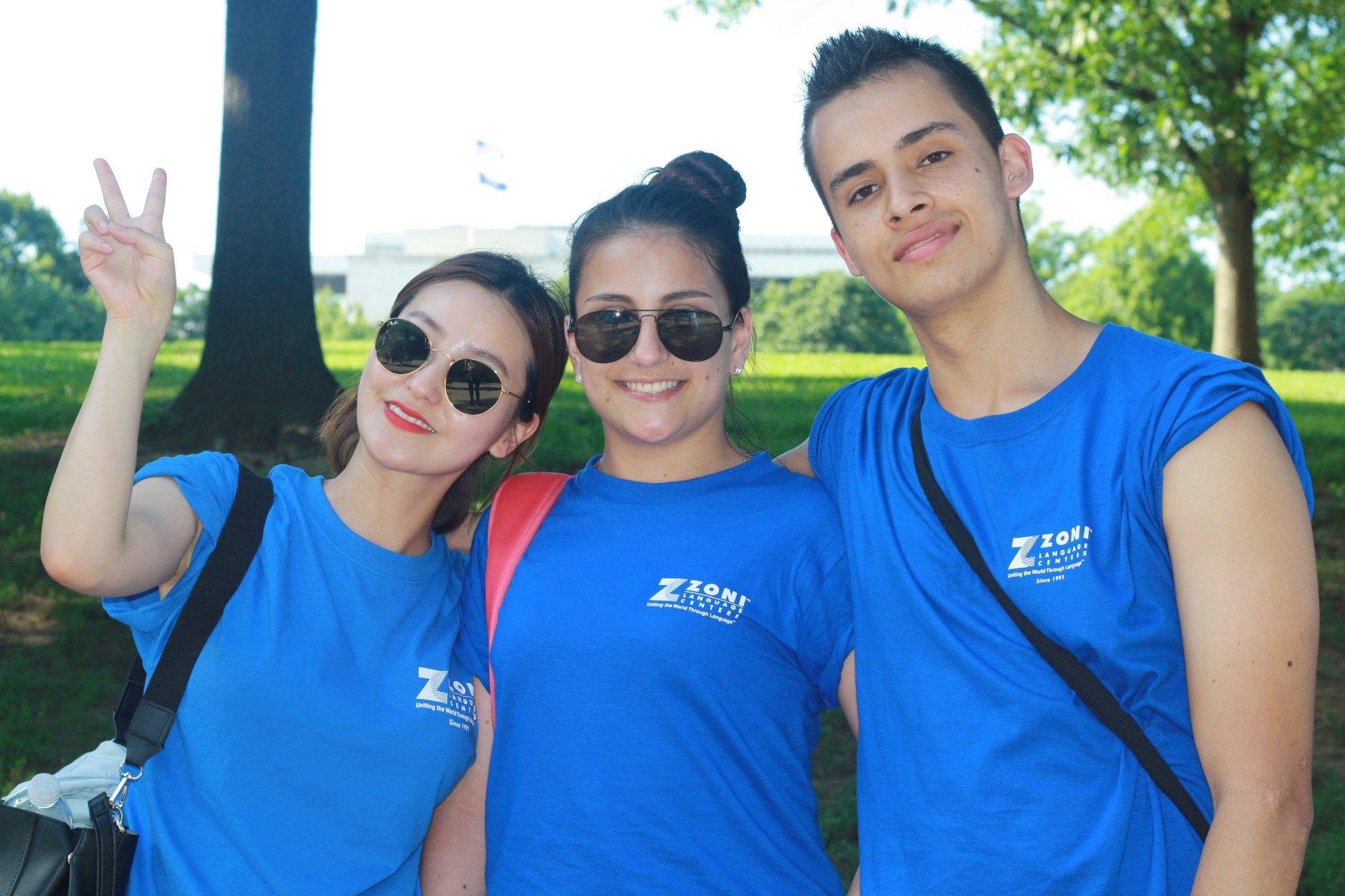 Zoni öğrencileri Washington DC Field Trip'te